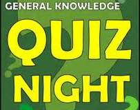 FINAL CALL! COME AND JOIN QUIZ FUN TOMORROW (WED, OCT 19)