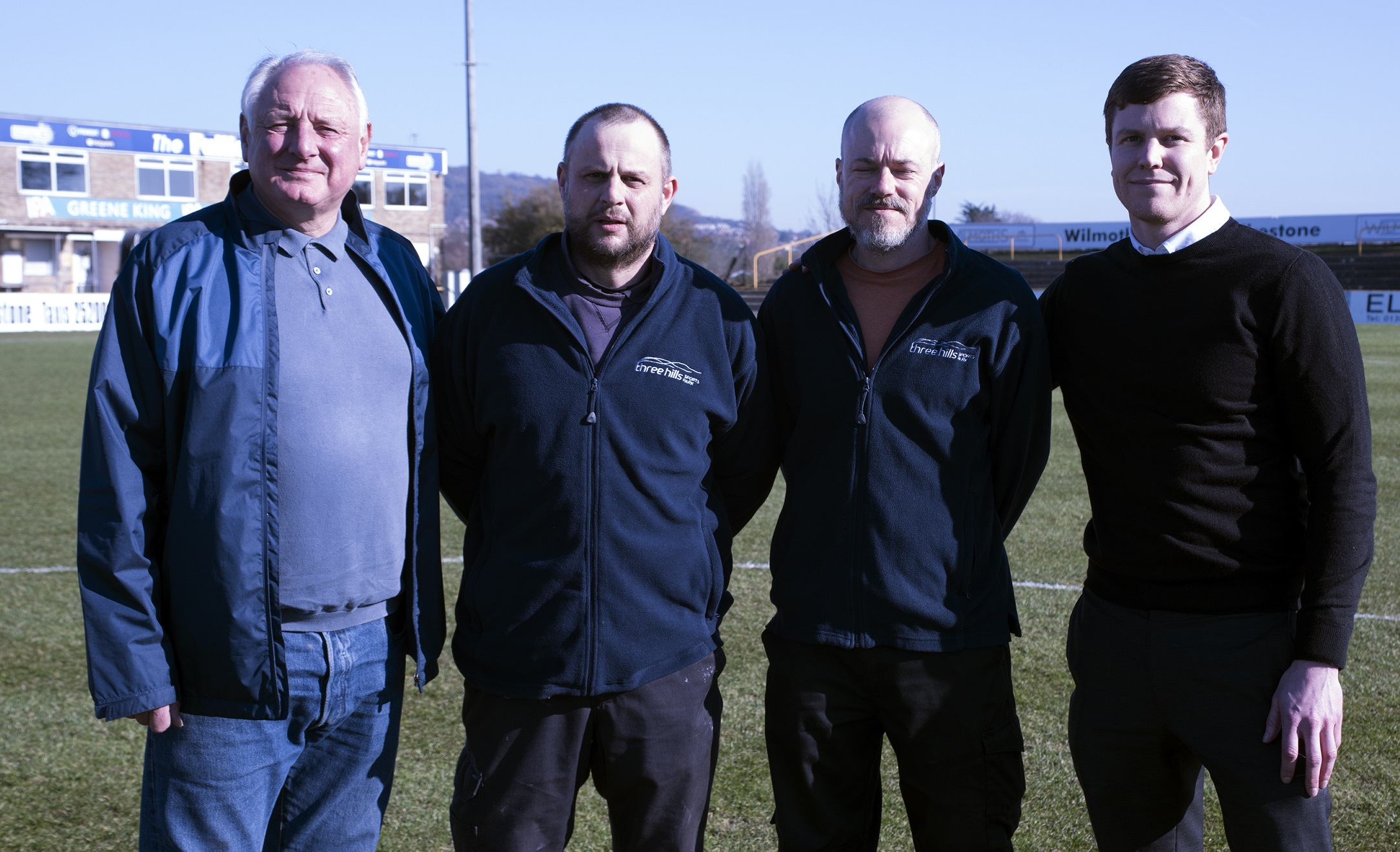 EXTENSION TO VERY SUCCESSFUL THREE HILLS AGREEMENT OVER PITCH AT THE FULLICKS STADIUM